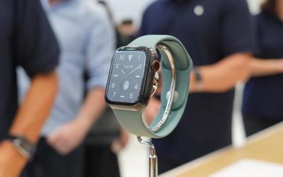 【极速上手】配备永亮显示屏:续航更持久 Apple Watch Series 5...
