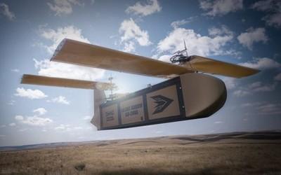 """伦敦展出滑翔无人机""""沉默之箭"""" 大负荷还可以隐形"""