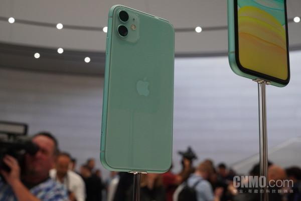 iPhone 11绿色