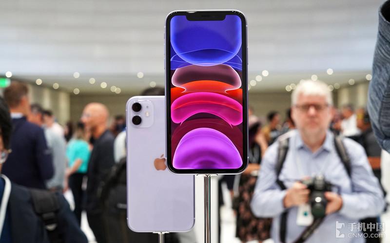 iPhone 11现场图赏 多彩机身带你领略万紫千红