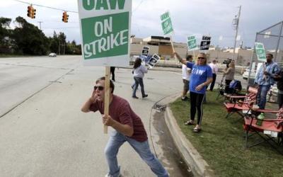 美国通用汽车工人罢工进行时 日损失高达9000万美元