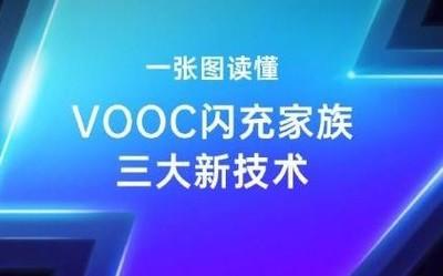 一张图读懂VOOC闪充三大新技术 充电5分钟开黑2小时