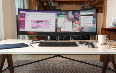 惠普推出超宽带鱼屏S430c 可同时显示两个电脑屏幕