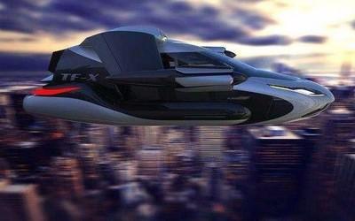 电动飞的在巴黎塞纳河上试运行 2020年将正式推出