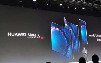 华为Mate X终于要来了 余承东宣布10月份中国发货