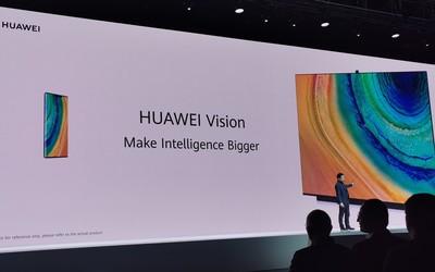 华为智慧屏正式发布 4K量子点/升降式摄像头/多屏互动