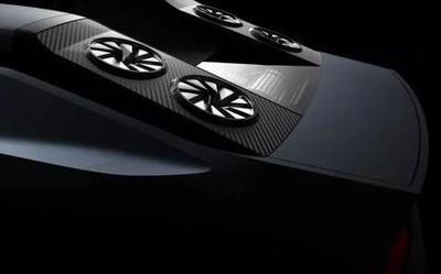 三菱发布最新概念车渲染图 车顶好像有四台电风扇