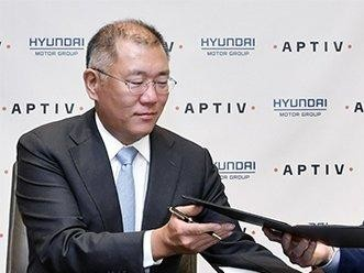 现代汽车:与Aptiv合作 2024年自动驾驶汽车实现量产
