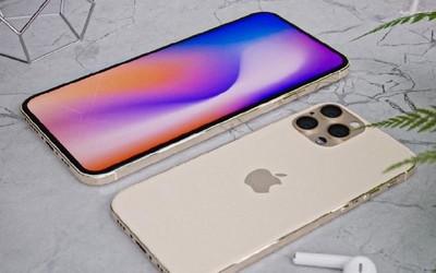 iPhone 12系列高清渲染图再次亮相 这屏占比还有对手?