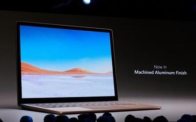 AMD YES!微软Surface Laptop3发布 新增15英寸版本