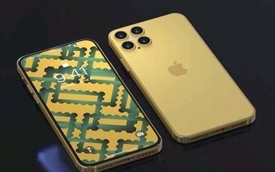 "iPhone 11s渲染图曝光 刘海没了但后面多了麻将""四筒"""