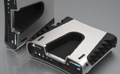 索尼PS5渲染图曝光 深V造型/复古设计/2020年推出