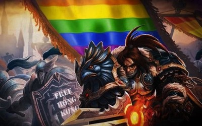 《魔兽世界》同性公会名变乱码 成员将在游戏中游行