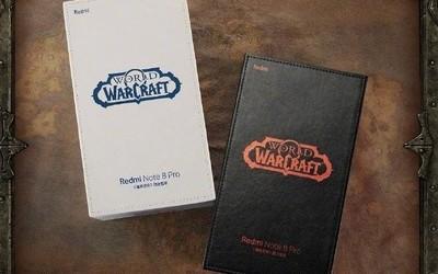 红米Note8 Pro魔兽世界限定套装16日开售 限量5000台