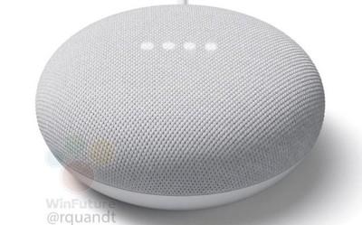 Google Nest Mini曝光:又一款小巧的智能扬声器产品