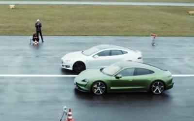 保时捷Taycan VS特斯拉Model S 这次Taycan全面胜出