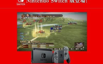 《三国志13》中文版即将登陆Switch平台:交互升级!