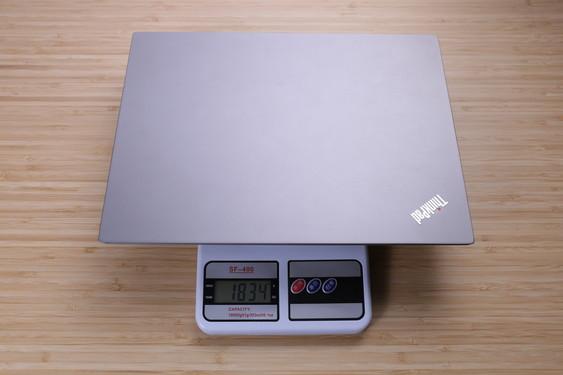 ThinkPad 翼480实测重量为1834g