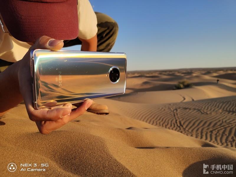 跟随NEX 3走进沙漠:记录大漠孤烟下的景与情