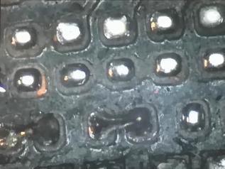 主板故障維修,看梁老師教學手機主板斷點焊接