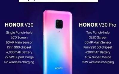 早报:荣耀V30入网/DxO公布三星Note10+ 5G拍照成绩