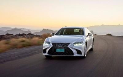丰田推出自动驾驶雷克萨斯LS500h 专门服务东京奥运