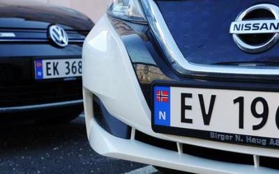 现在国外纯电动汽车牌照将给予纯电动汽车一些特权