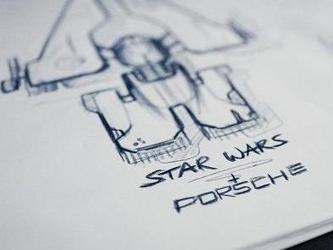 星球大战的设计师和保时捷设计师合作设计星际飞船