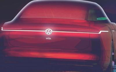 大众发布了一辆新的智能电动车概念图 将在美国亮相
