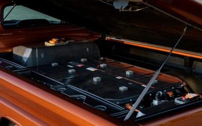 SEMA车展上的通用推出基于Bolt EV的改装版电动皮卡