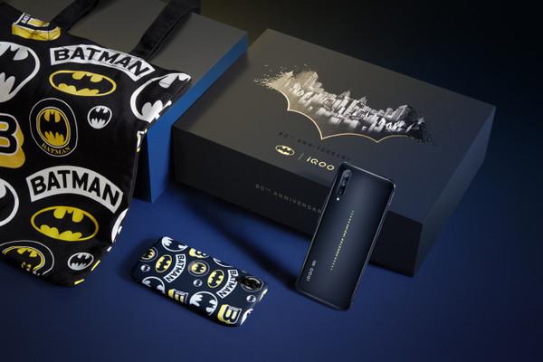 iQOO推出蝙蝠侠礼盒定制版 两个版本 现已开启预约