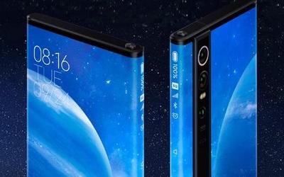 小米折叠屏手机外观专利曝光 升降结构/五颗摄像头