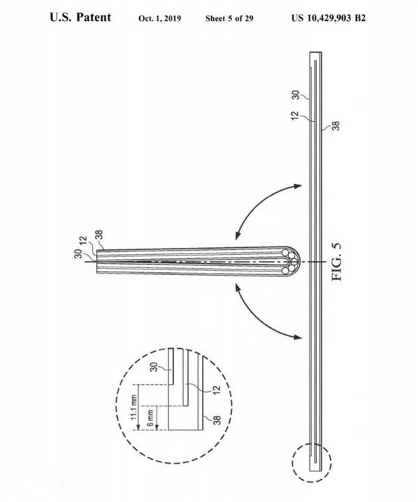 戴尔可折叠屏幕电脑专利 曝光 有两种铰链设计方案