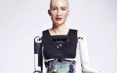 仿生机器人索菲亚再亮相 称自己单身并打算保持现状