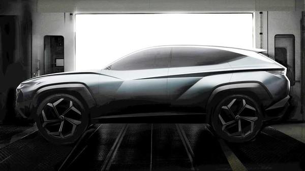现代Vision混动跨界SUV概念车推出 将亮相洛杉矶车展