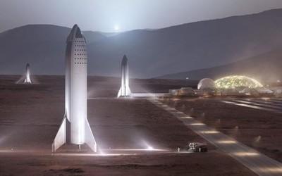 马斯克:在火星建设城市需要1000艘飞船 20年时间