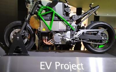 十年磨一剑 川崎电动摩托车亮相欧洲工业联合年会