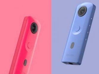 理光Theta SC2发布:入门级的360°相机/四种配色可选