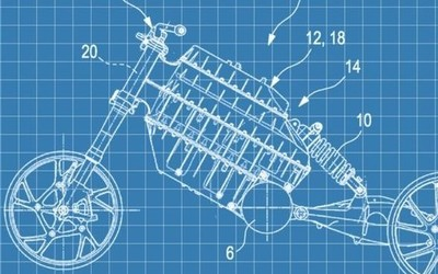 宝马设计专利图曝光 看似将要推出新款电动摩托车