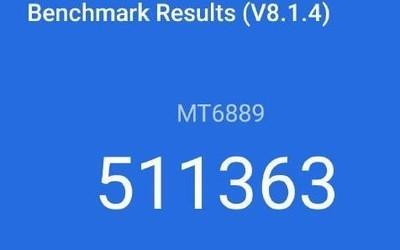 安兔兔跑分成绩超过51万分 联发科技5G SoC成了!