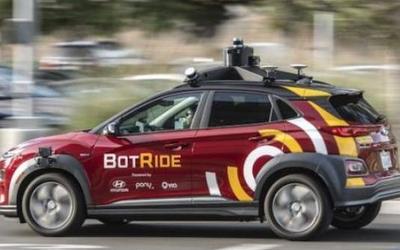 Pony.ai表示五年后自动驾驶汽车将出现在公共道路上