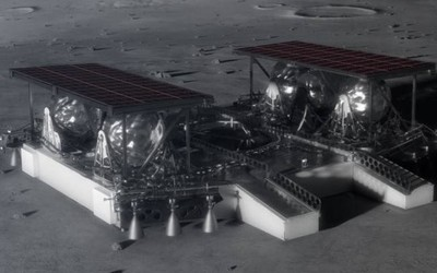 NASA的新款月球登陆器曝光 将用于2024年登月任务
