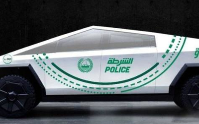 加入豪车行列 特斯拉皮卡加入迪拜警方组建豪华阵容