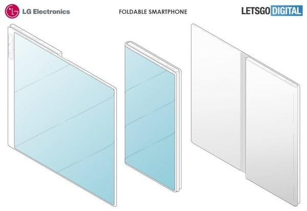 LG全新折叠屏专利再次曝光 明年CES我们能看到吗