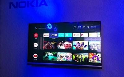 诺基亚智能电视真机图曝光 JBL扬声器 售价约4100元