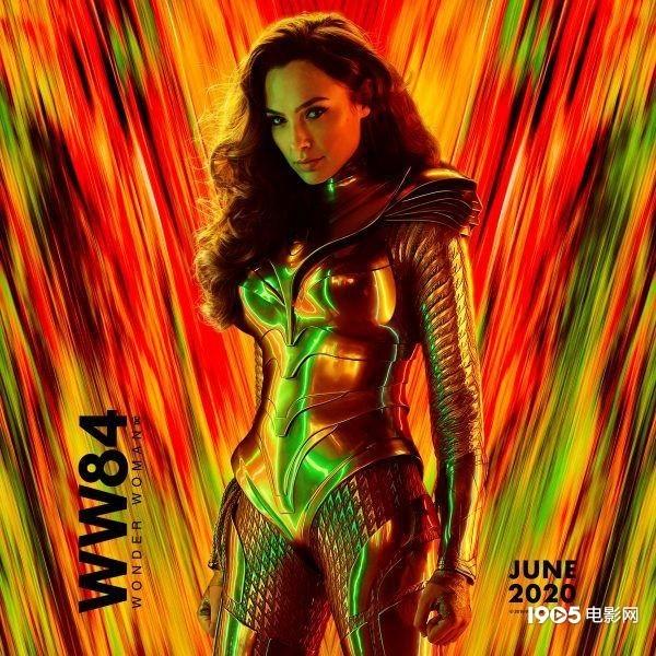 《神奇女侠2》预告片放出 戴安娜神装加持霸气回归