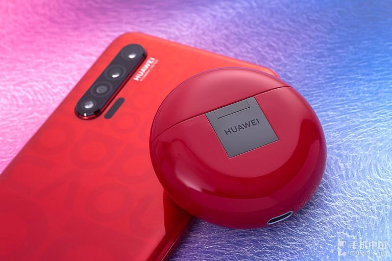 华为 FreeBuds3 蜜语红图赏 饱满的烈焰是新年中的一抹红