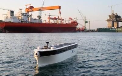 三星重工实现5G远程操控自动驾驶模型船航行实验