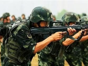 """""""中国武警""""官方微博正式上线 网友刷评:老规矩,抽奖"""