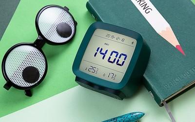 随意放在卧室里最美的传感器 青萍蓝牙闹钟创意不错!